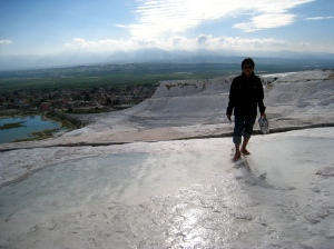 Batuan marmar Pamukkale